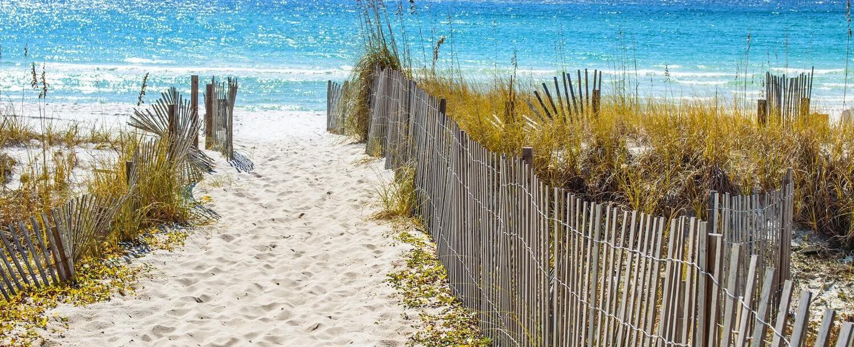beach pathway
