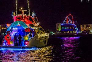 destin christmas boat