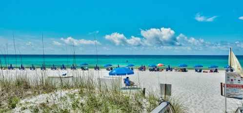 Destin Beach Club 116 - Beach View