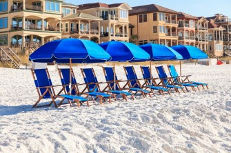 Vacation Rental Beach Chairs